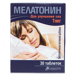 Melatoninas 1mg N30